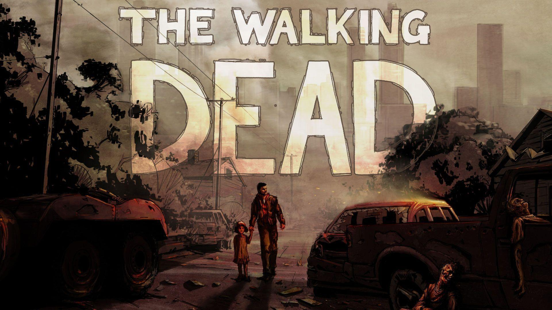 The Walking Dead Game Wallpapers Wallpaper Cave