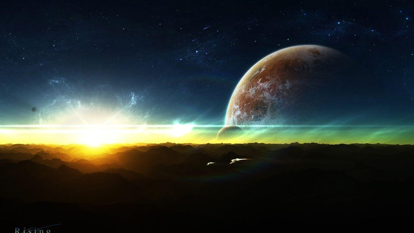 Rising Space Wallpapers