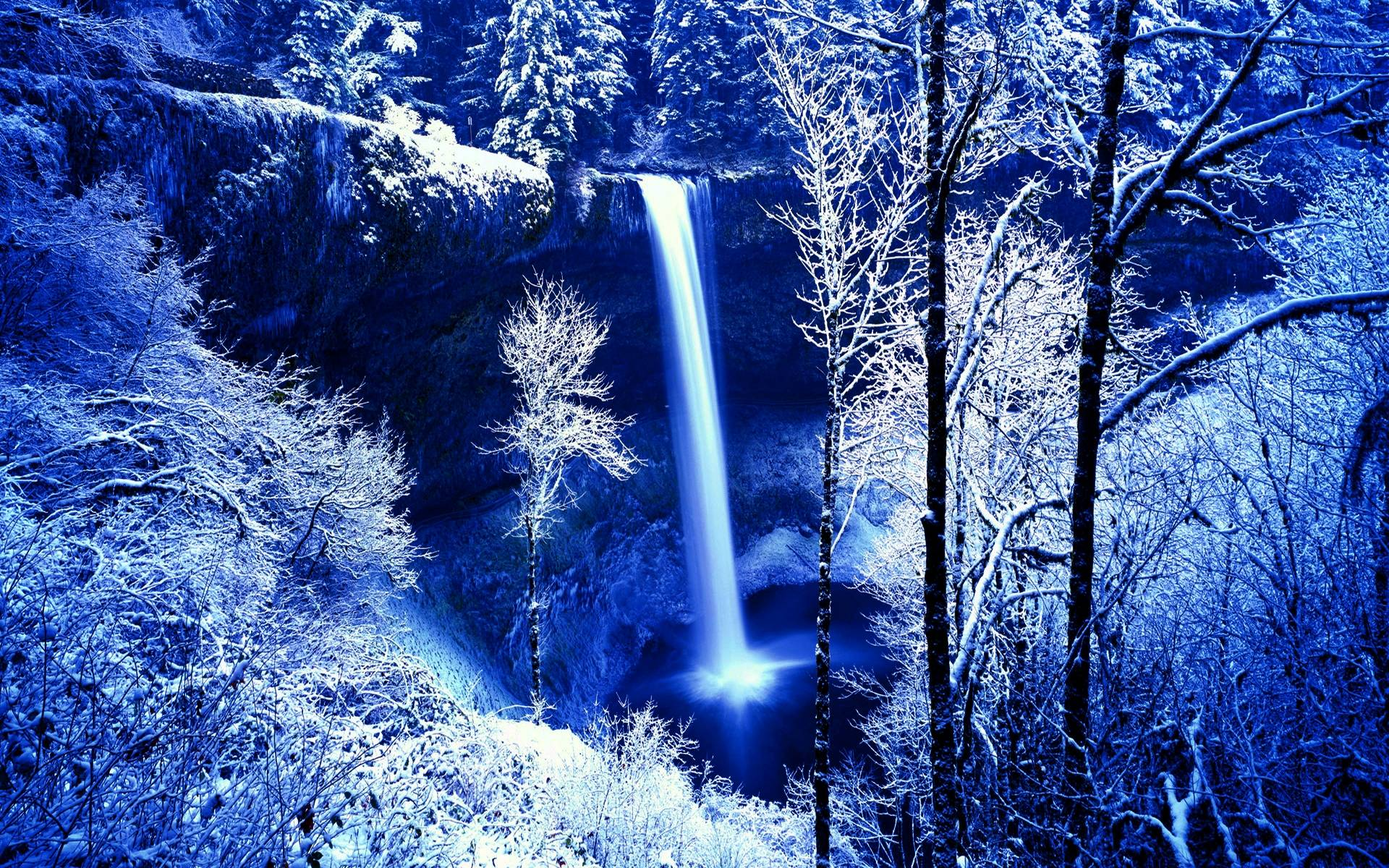 winter nature backgrounds wallpaper cave
