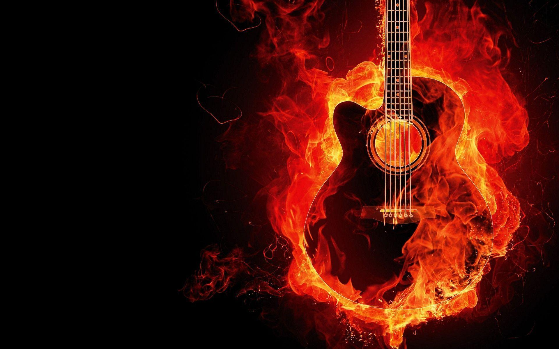 cool guitar wallpaper for - photo #4