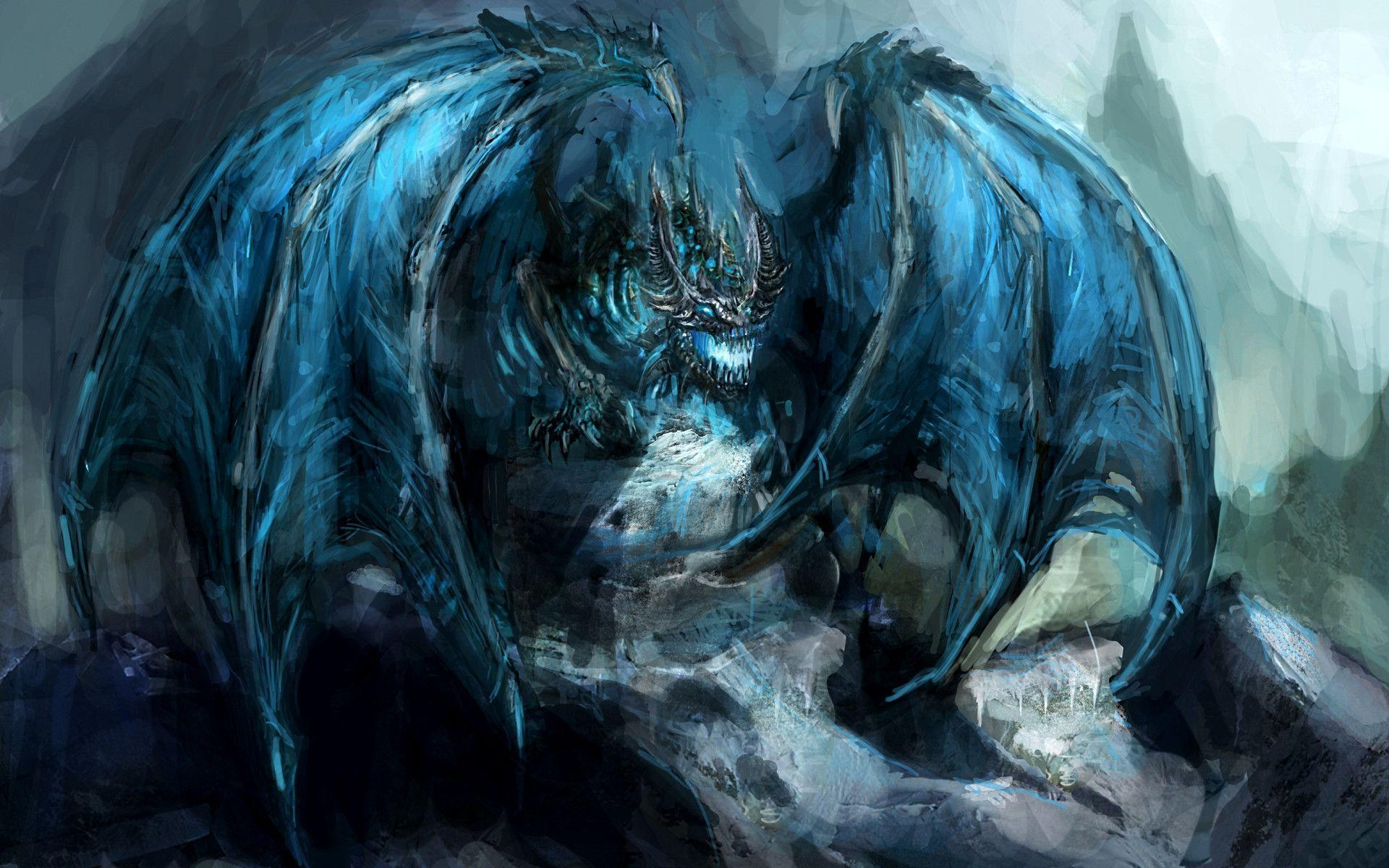 Ice dragon wallpapers wallpaper cave - Dragon wallpaper hd for pc ...