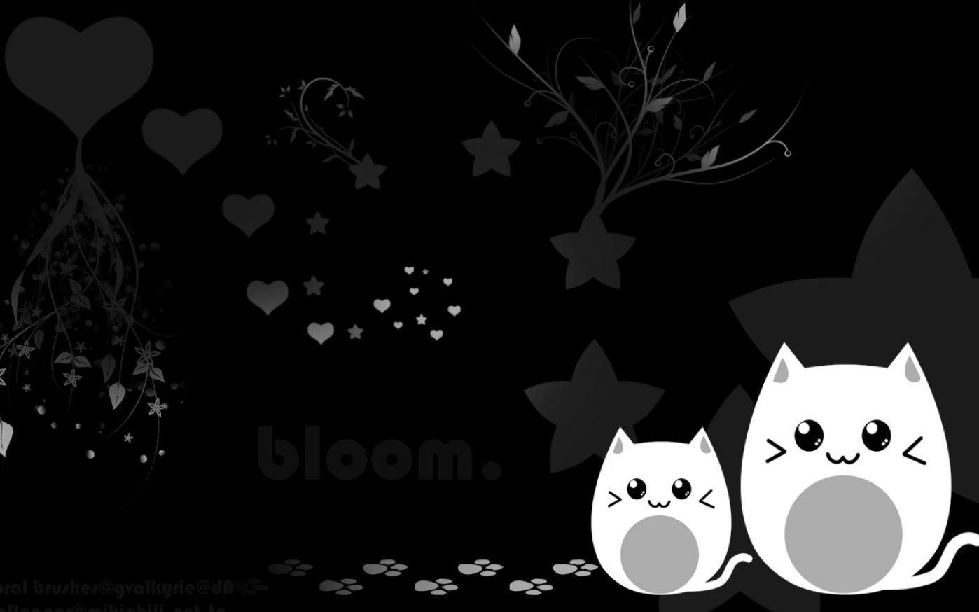 home wallpaper cute black - photo #9