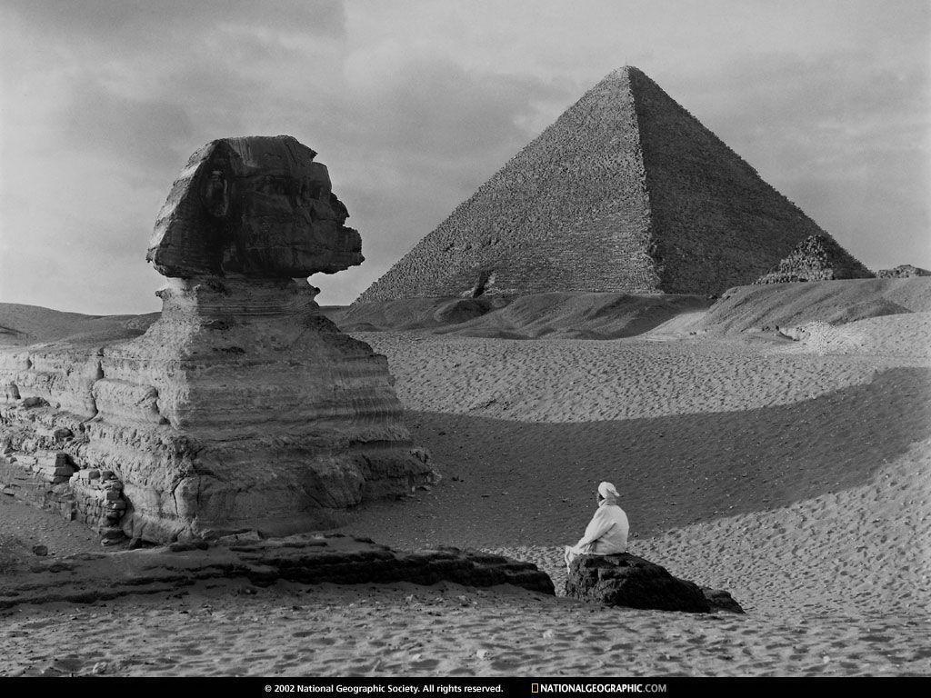 Giza, Egypt, Great Sphinx, 1918, Photo of the Day, Picture