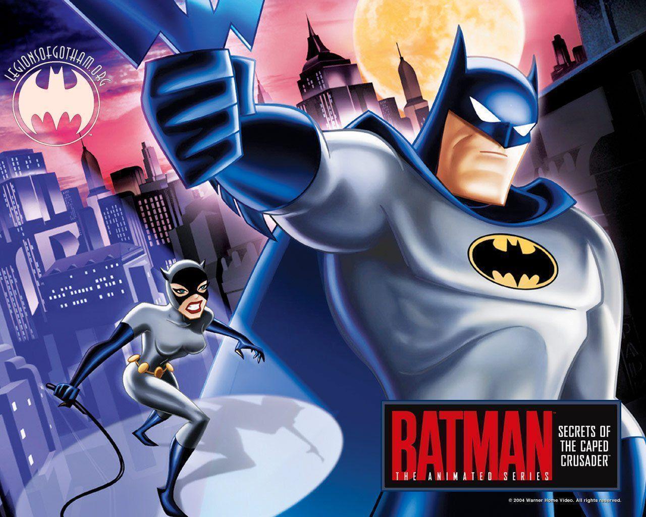 Batman cartoon wallpapers wallpaper cave - Batman wallpaper cartoon ...