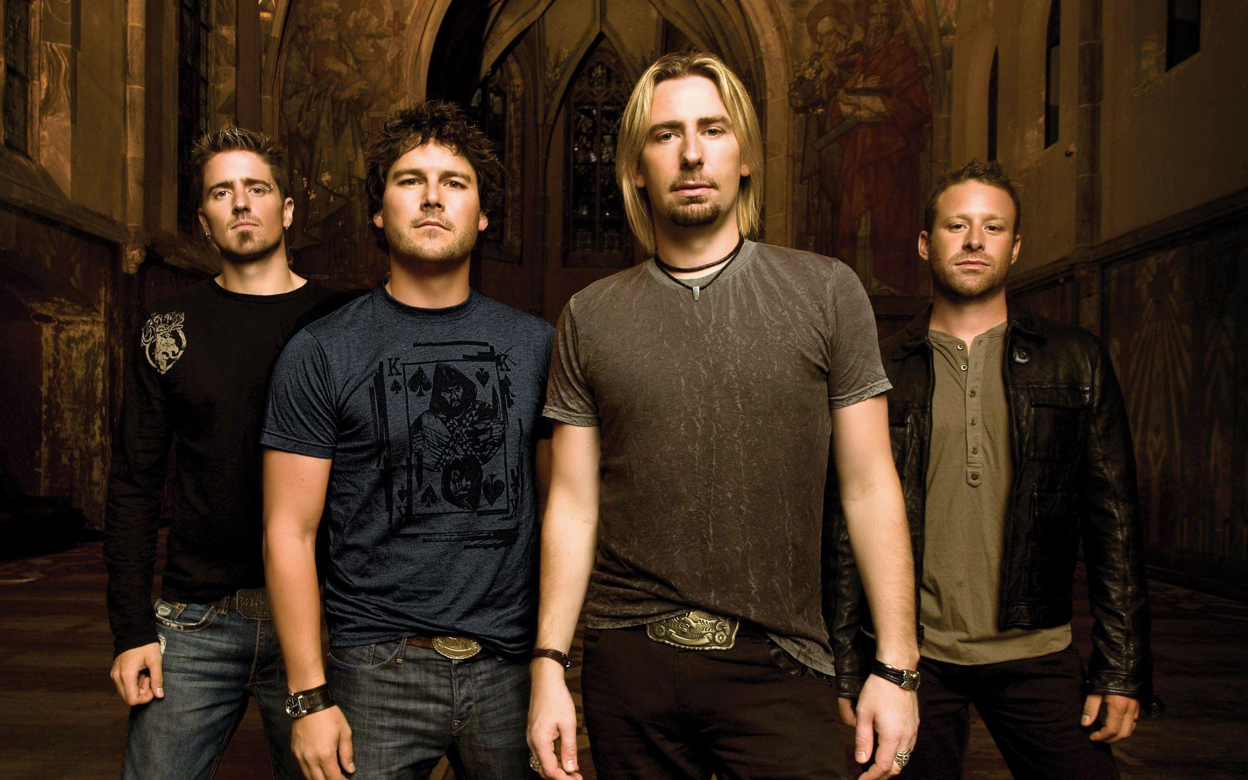 Wallpapers nickelback, chad kruger, ryan pike, mike krueger, daniel