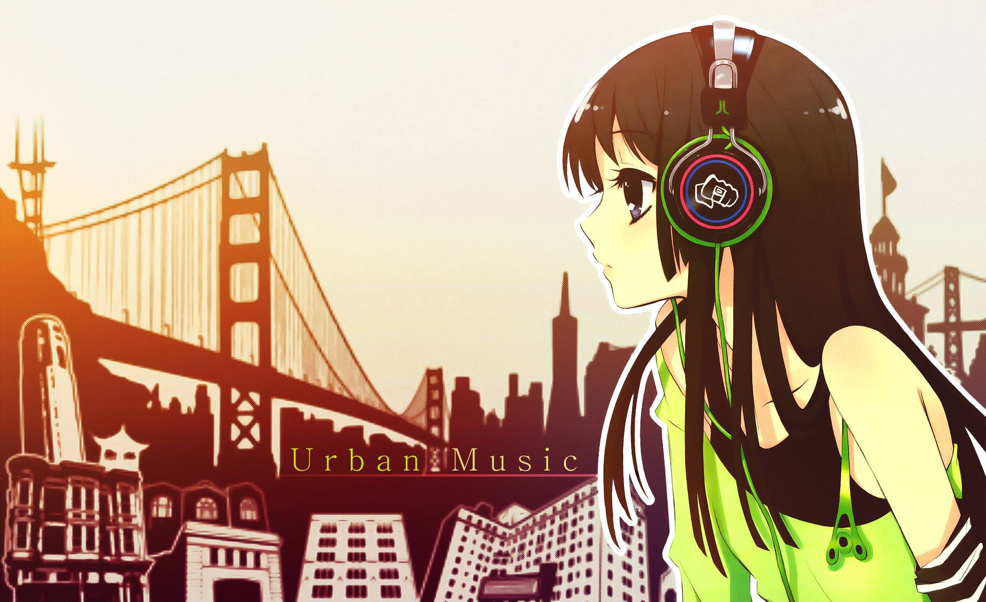 Wallpaper Manga Music