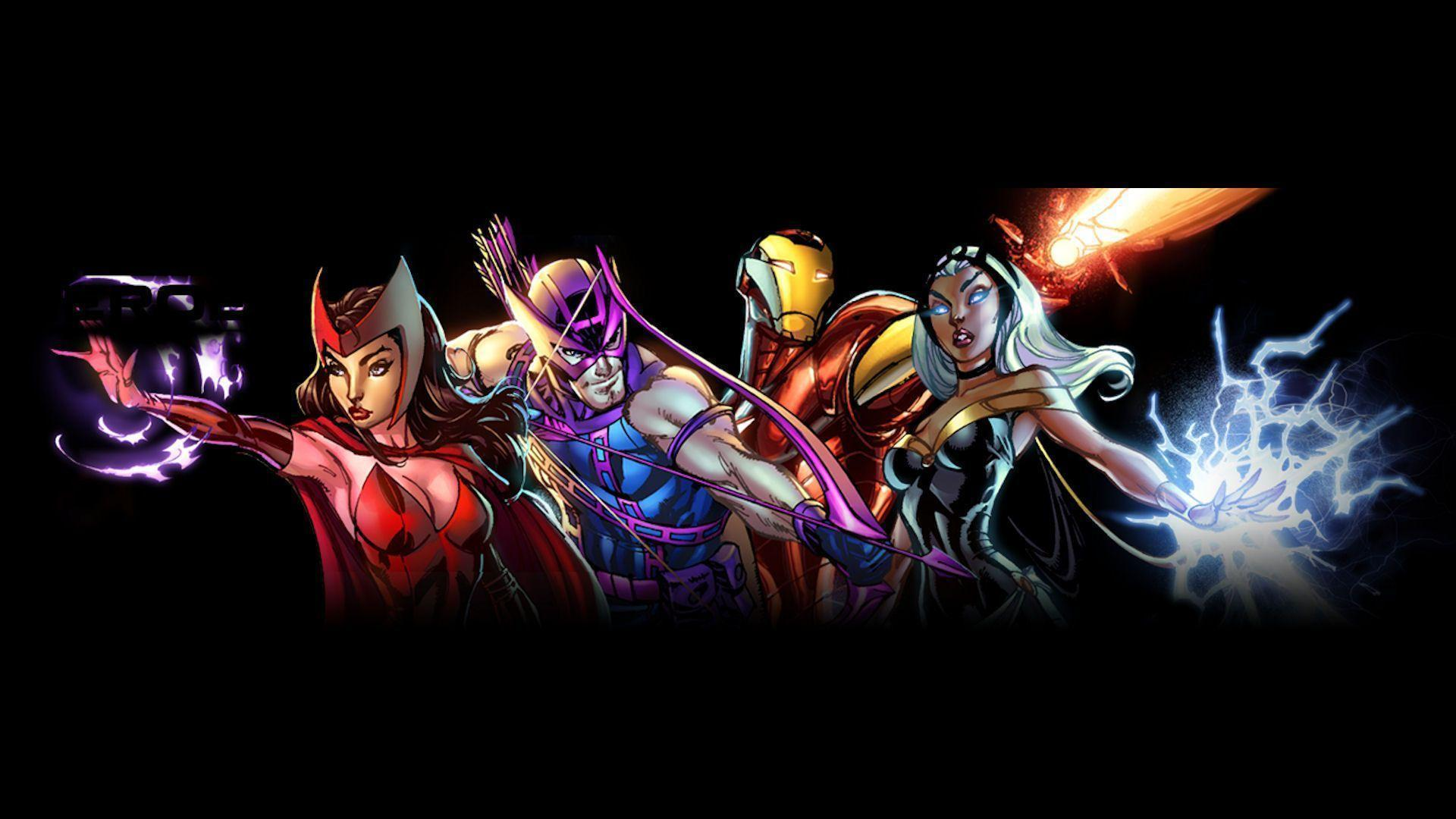 Marvel Heroes Wallpaper (HD)