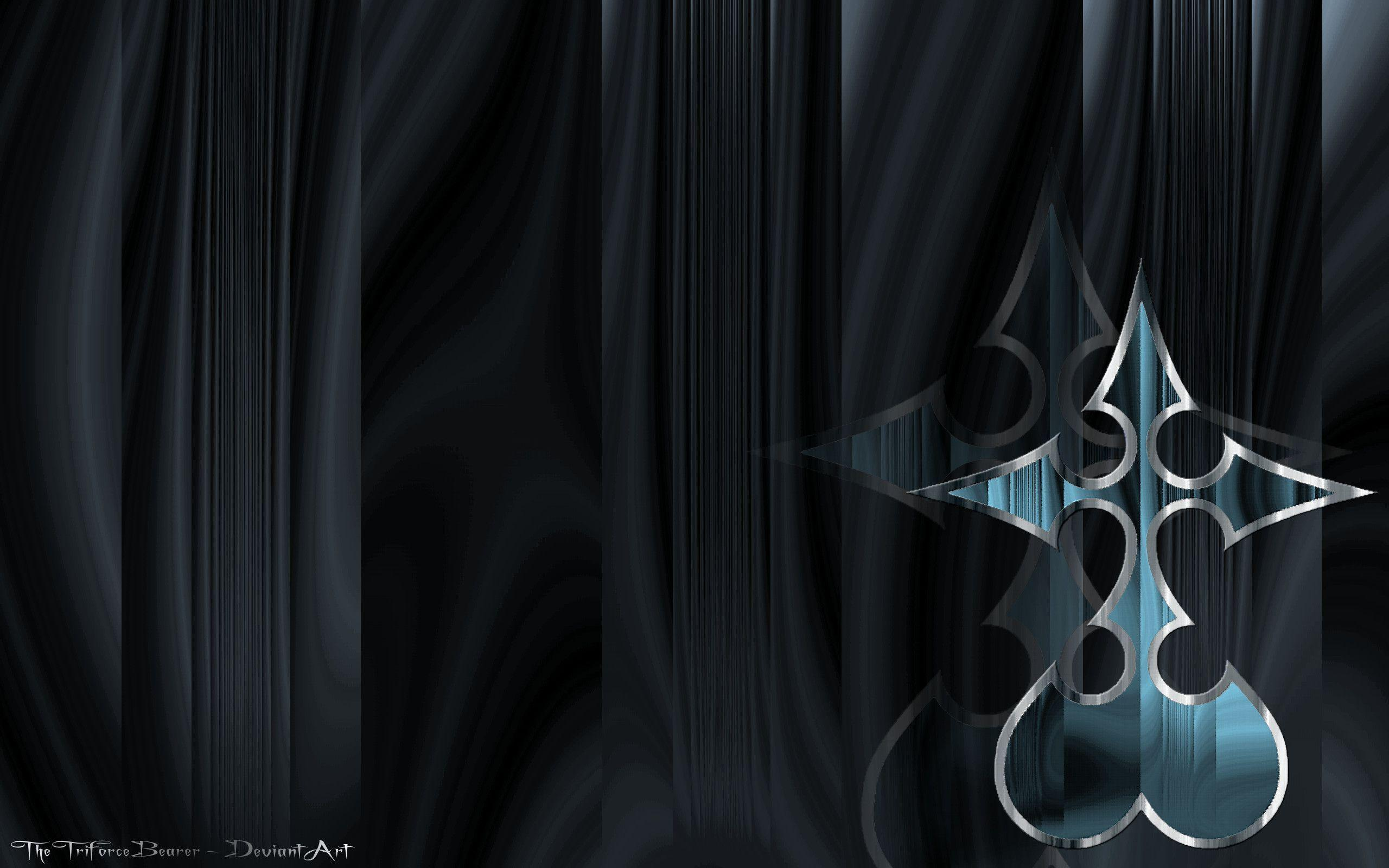 Kingdom Hearts Heartless Wallpapers - Wallpaper Cave Kingdom Hearts Symbols Wallpaper