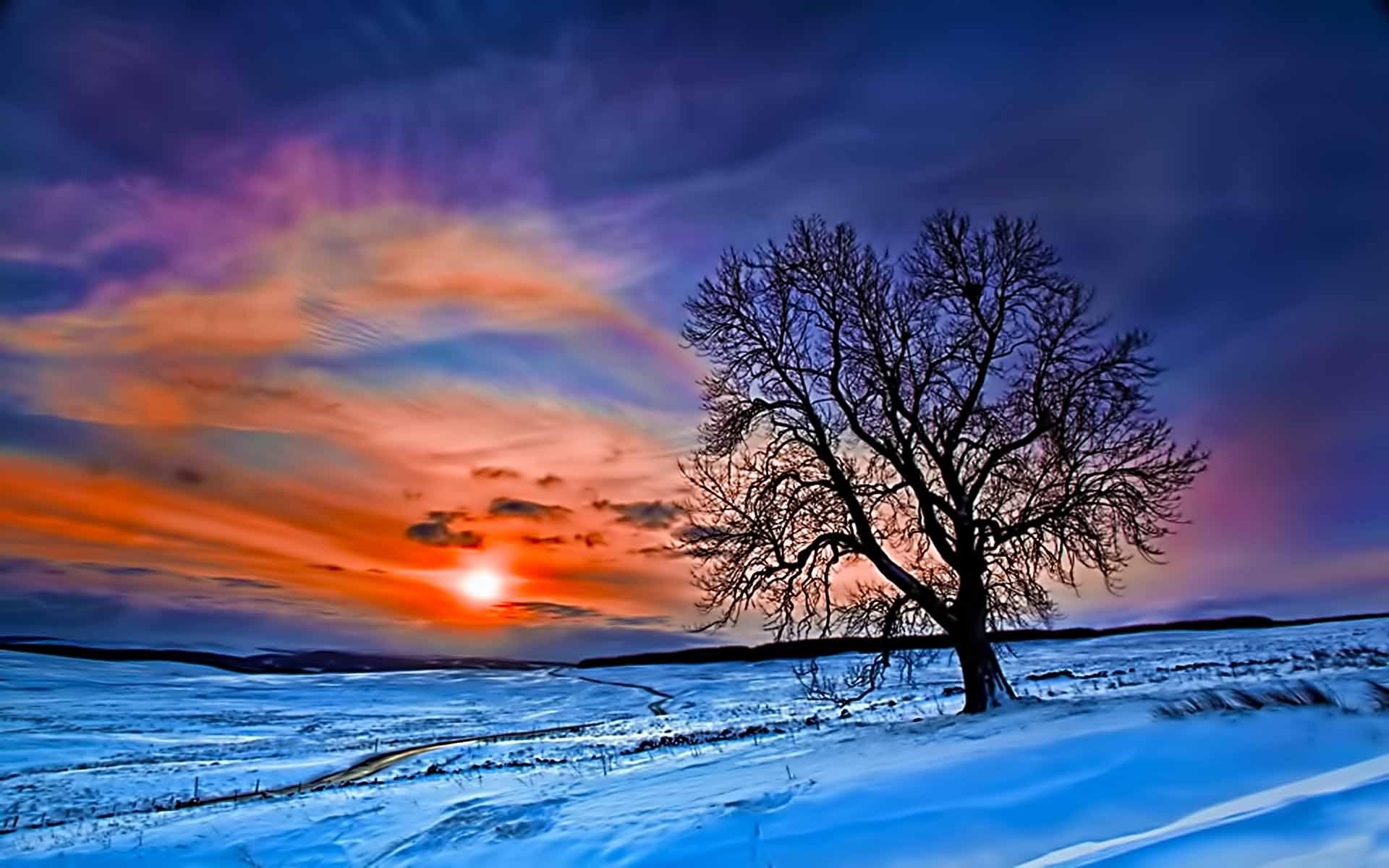 scenic winter beautiful wallpapers - photo #17