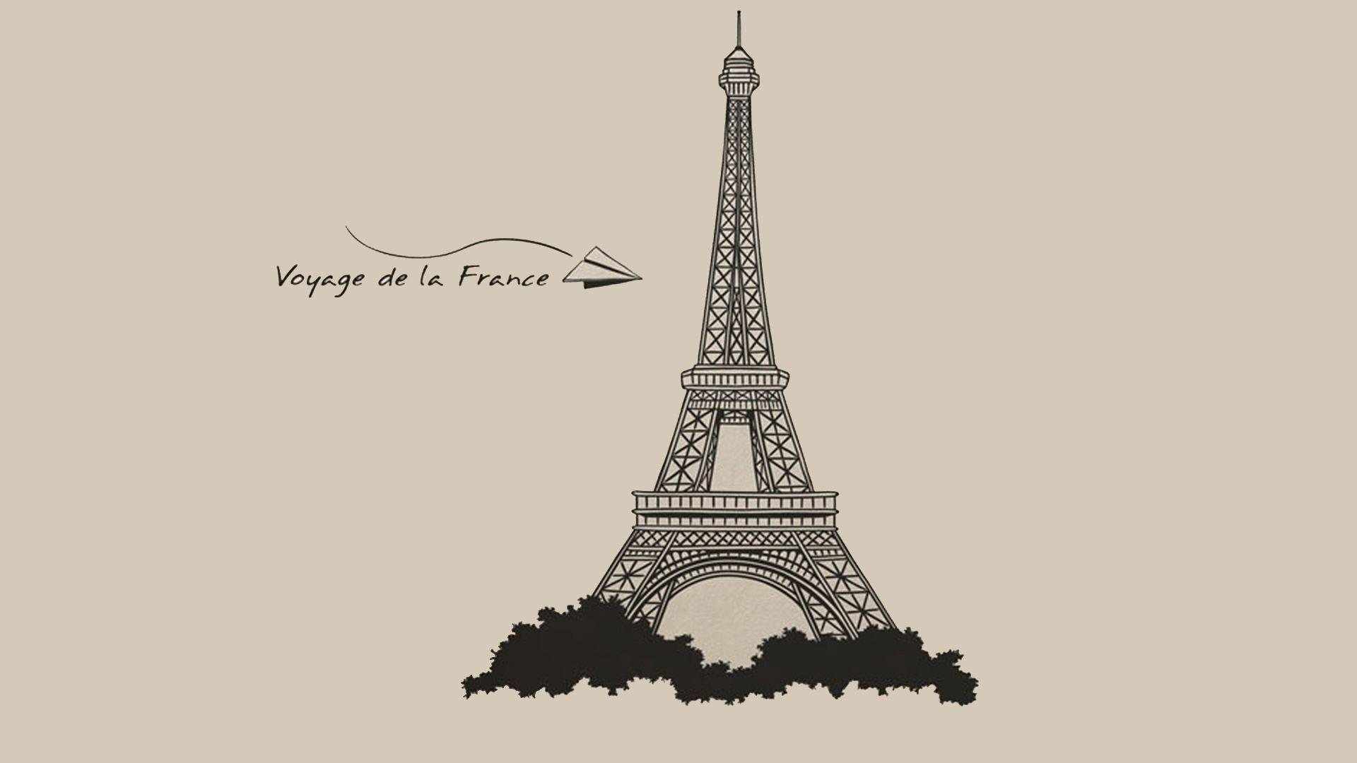98 Sketch Wallpapers Wallpaper Cave Sketches Wallpapers: Wallpapers Eiffel Tower