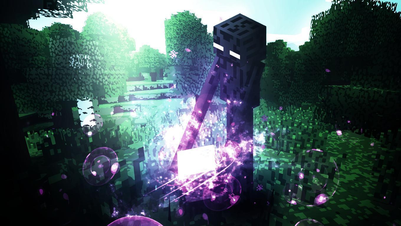 Minecraft Img For Background Hd Enderman