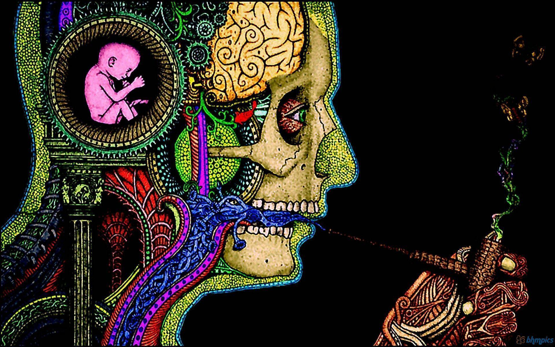 Psychedelic Art Wallpapers Wallpaper Cave