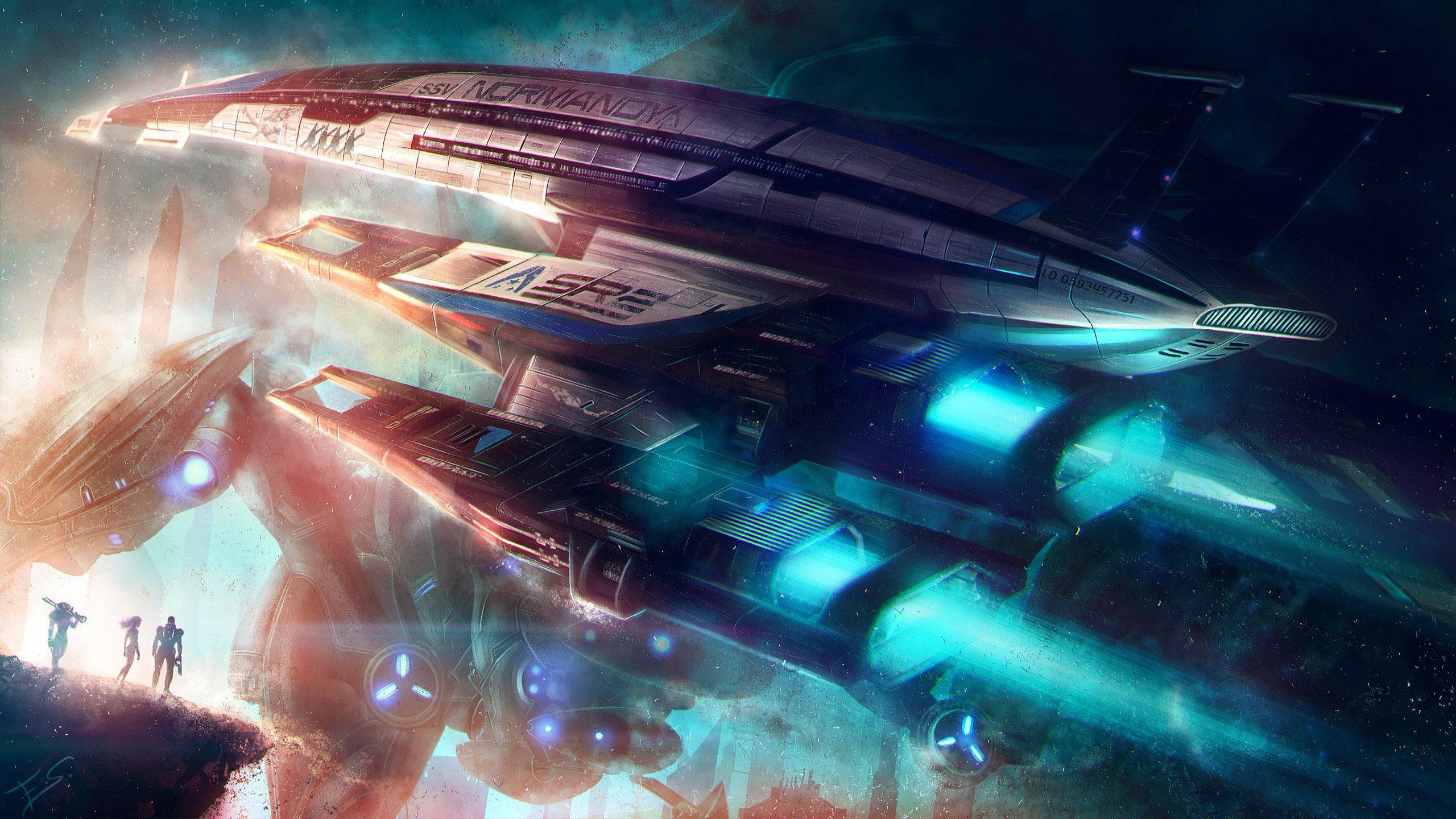 Mass Effect Normandy Wallpapers Wallpaper Cave