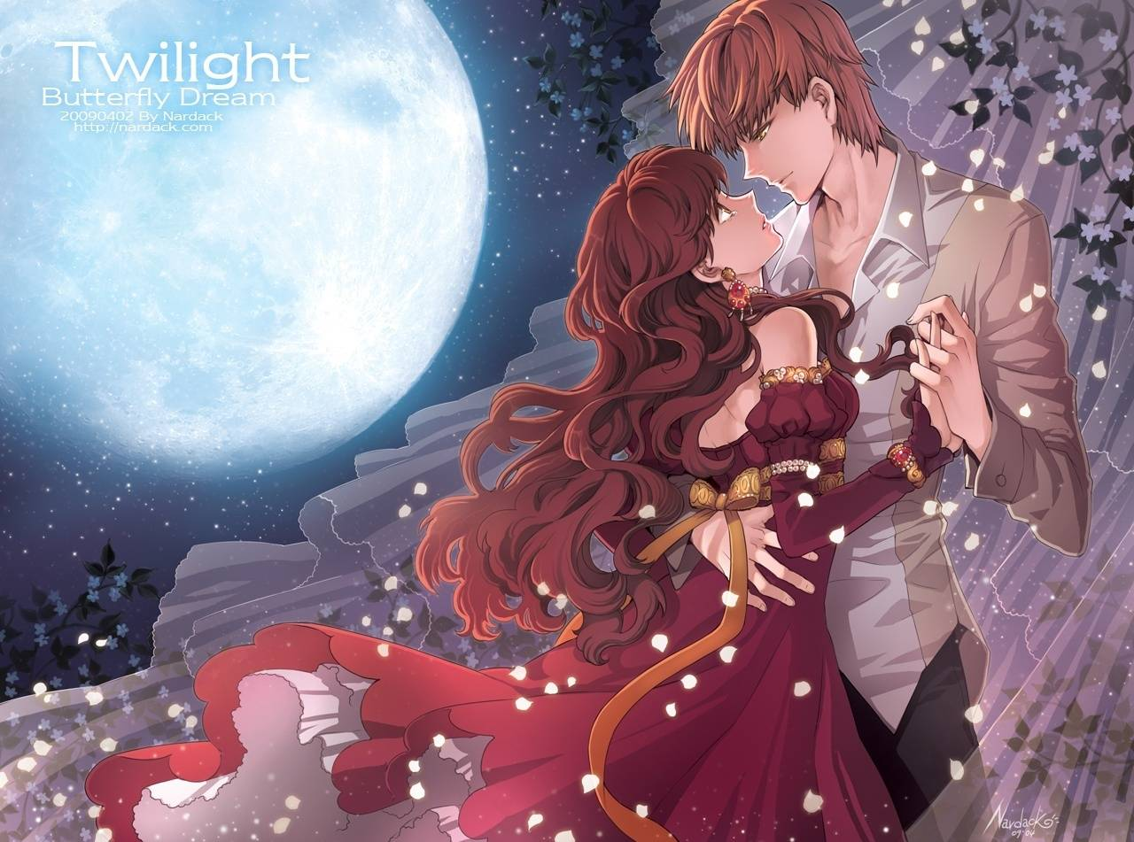 Manga Romance Wallpaper