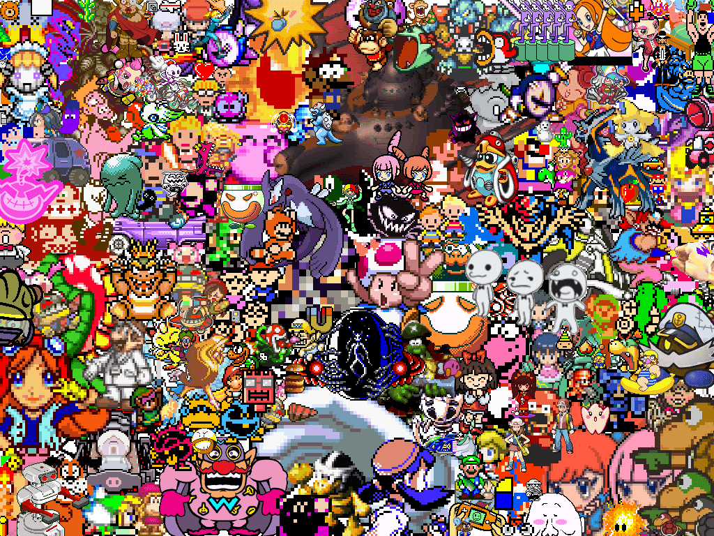 nintendo characters wallpaper - photo #1