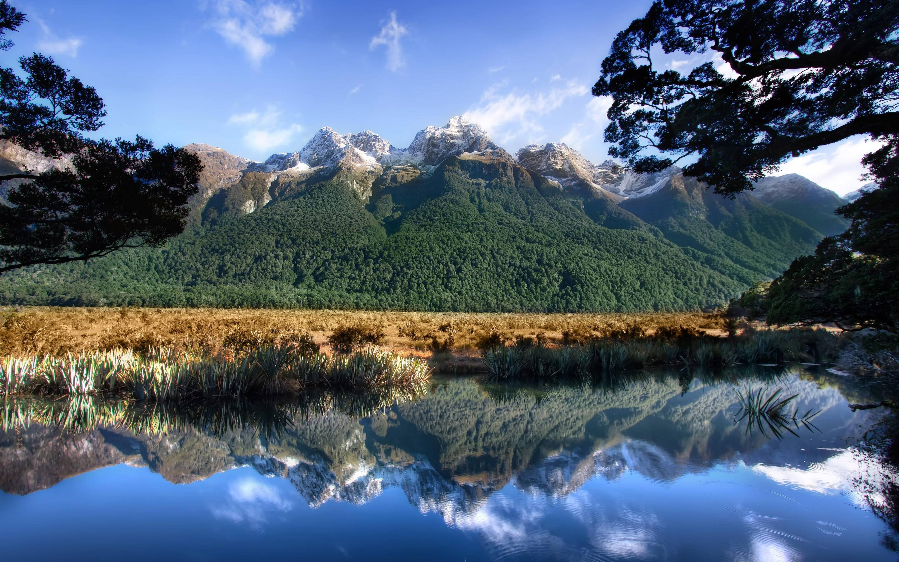 Milford Sound New Zealand Wallpaper