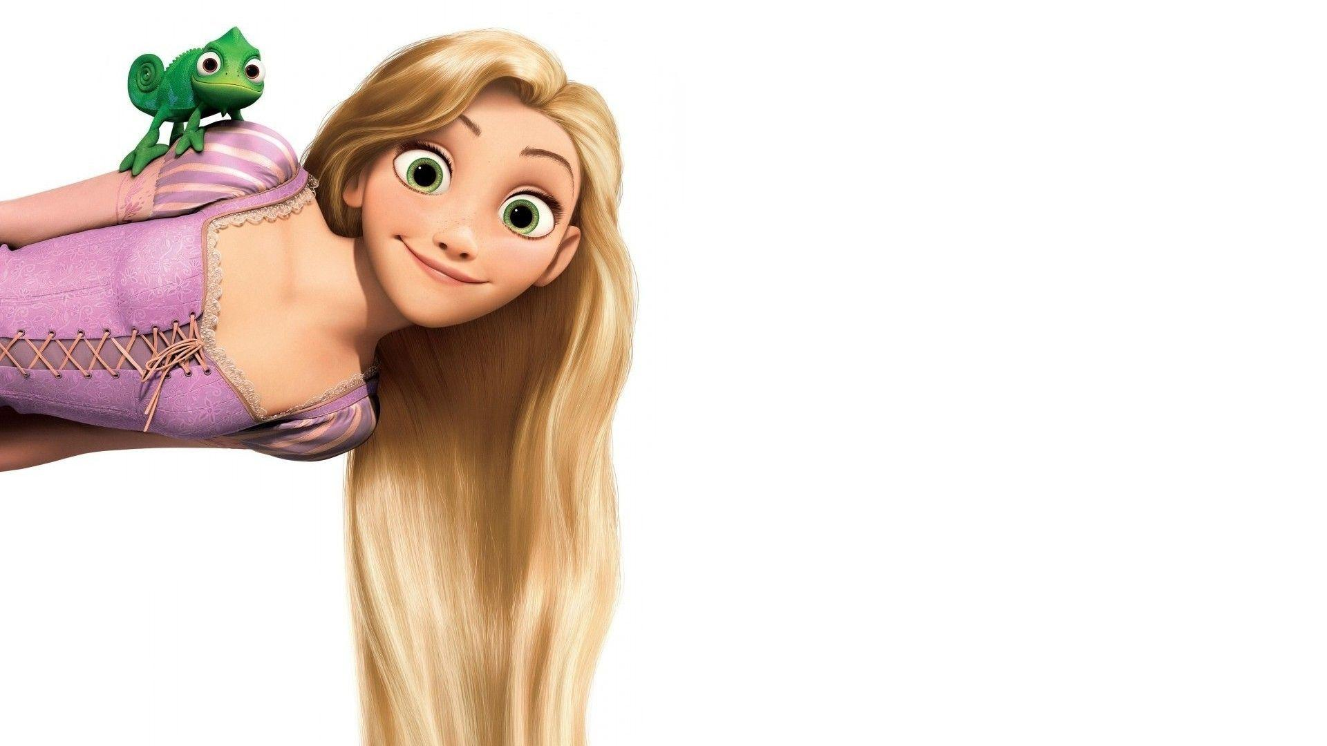Pascal and Rapunzel Wallpaper #