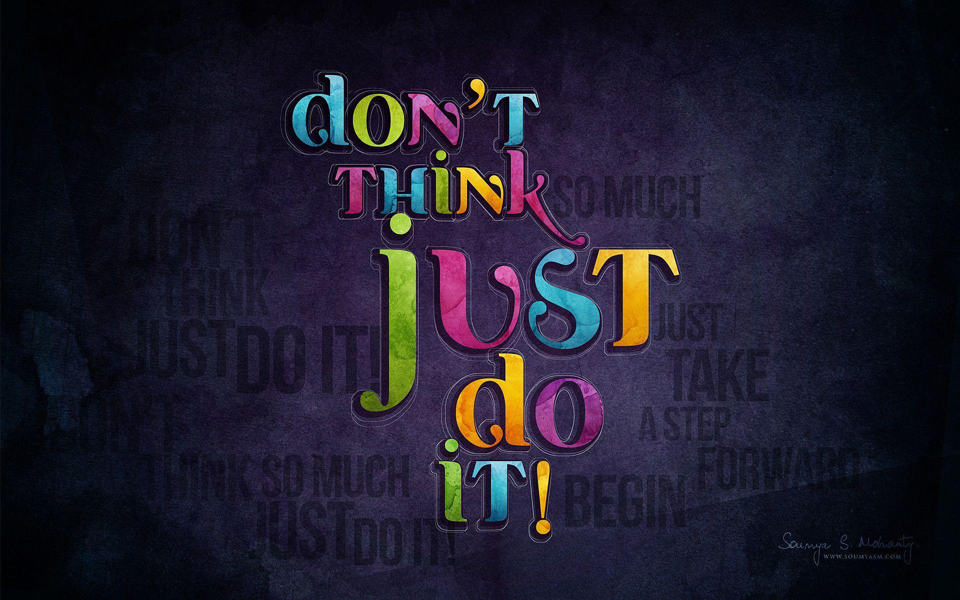 Nike Just Do It Wallpapers - Wallpaper Cave