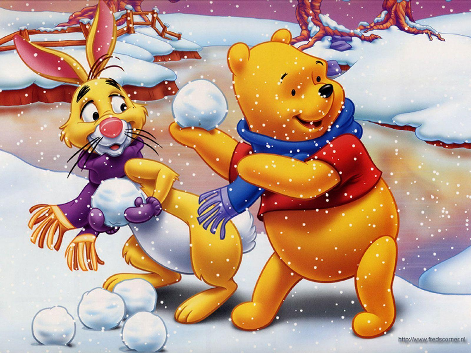 Winnie The Pooh Christmas Wallpaper Backgrounds
