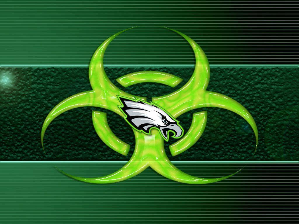Philadelphia Eagles Logo Ipad Wallpapers 1024x768px Football