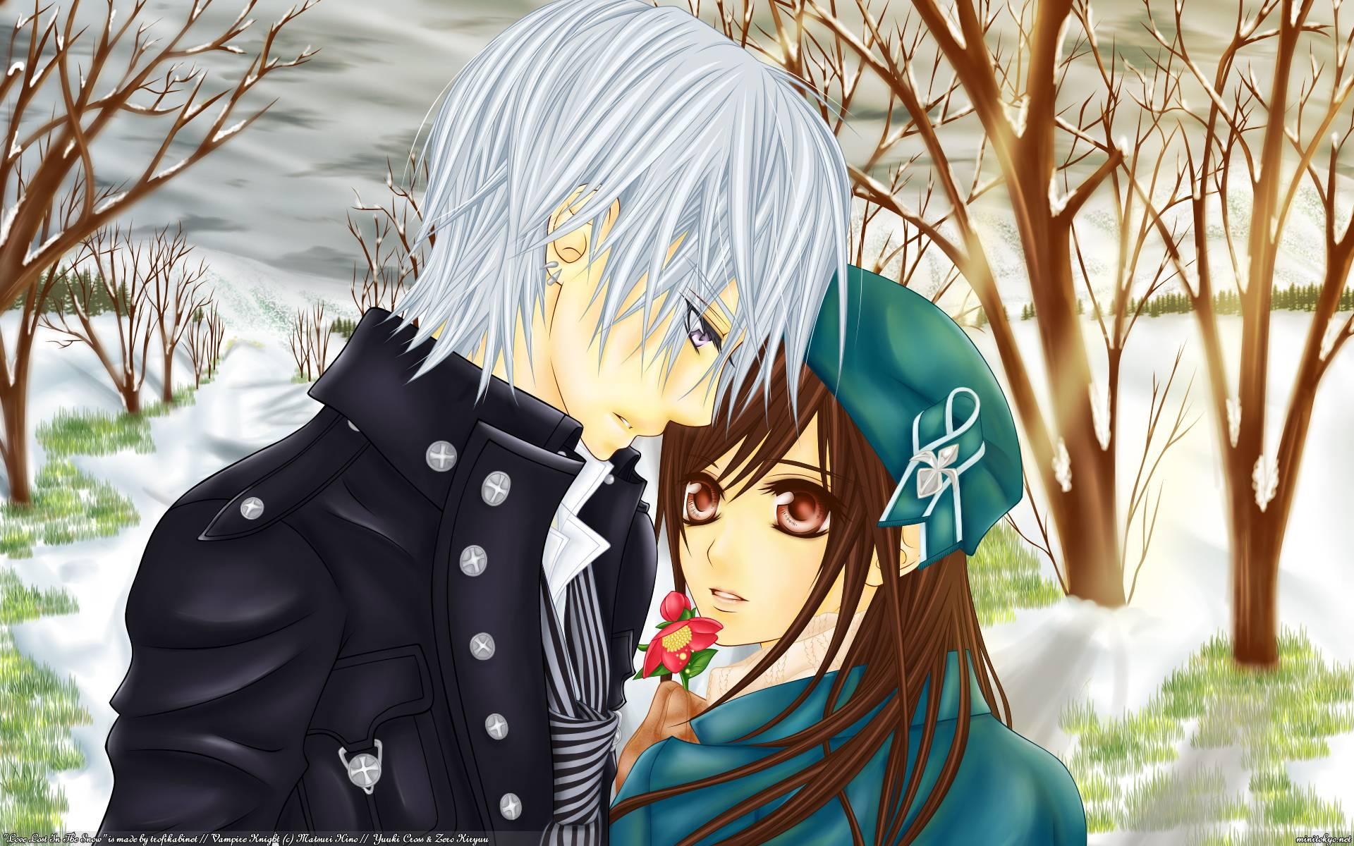 romantic anime wallpaper - photo #12
