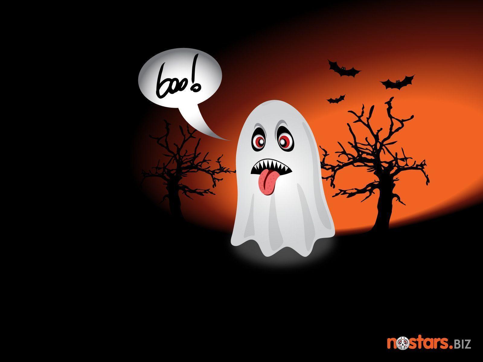 Halloween Ghost Wallpaper  By Redmorph On Deviantart