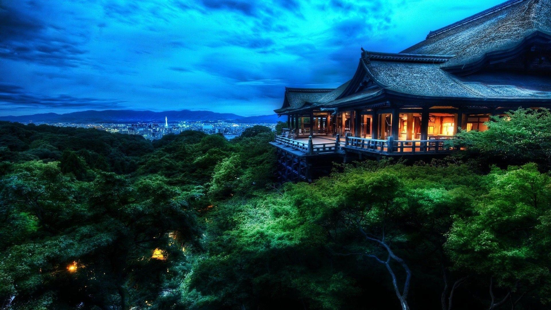 Japan Night Landscape Wallpapers HD Wallpapers