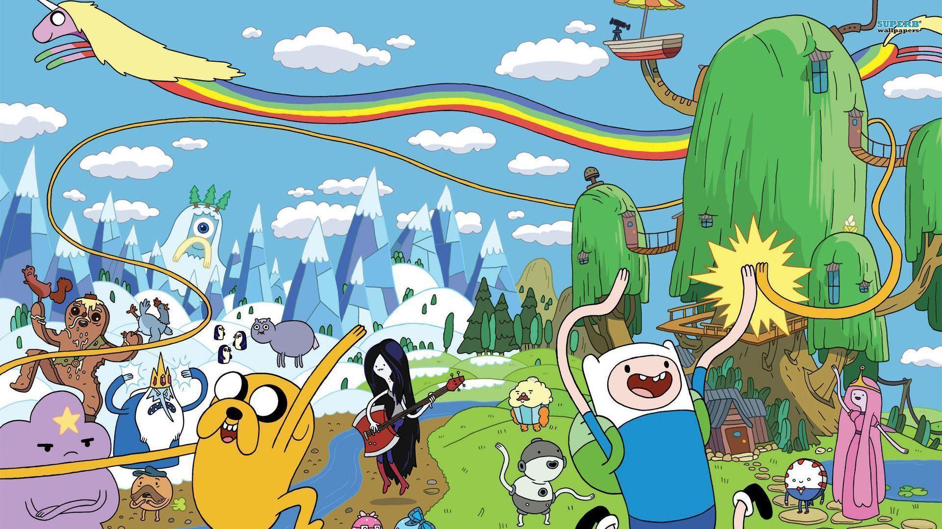 Adventure Time Wallpaper Cartoon Wallpapers