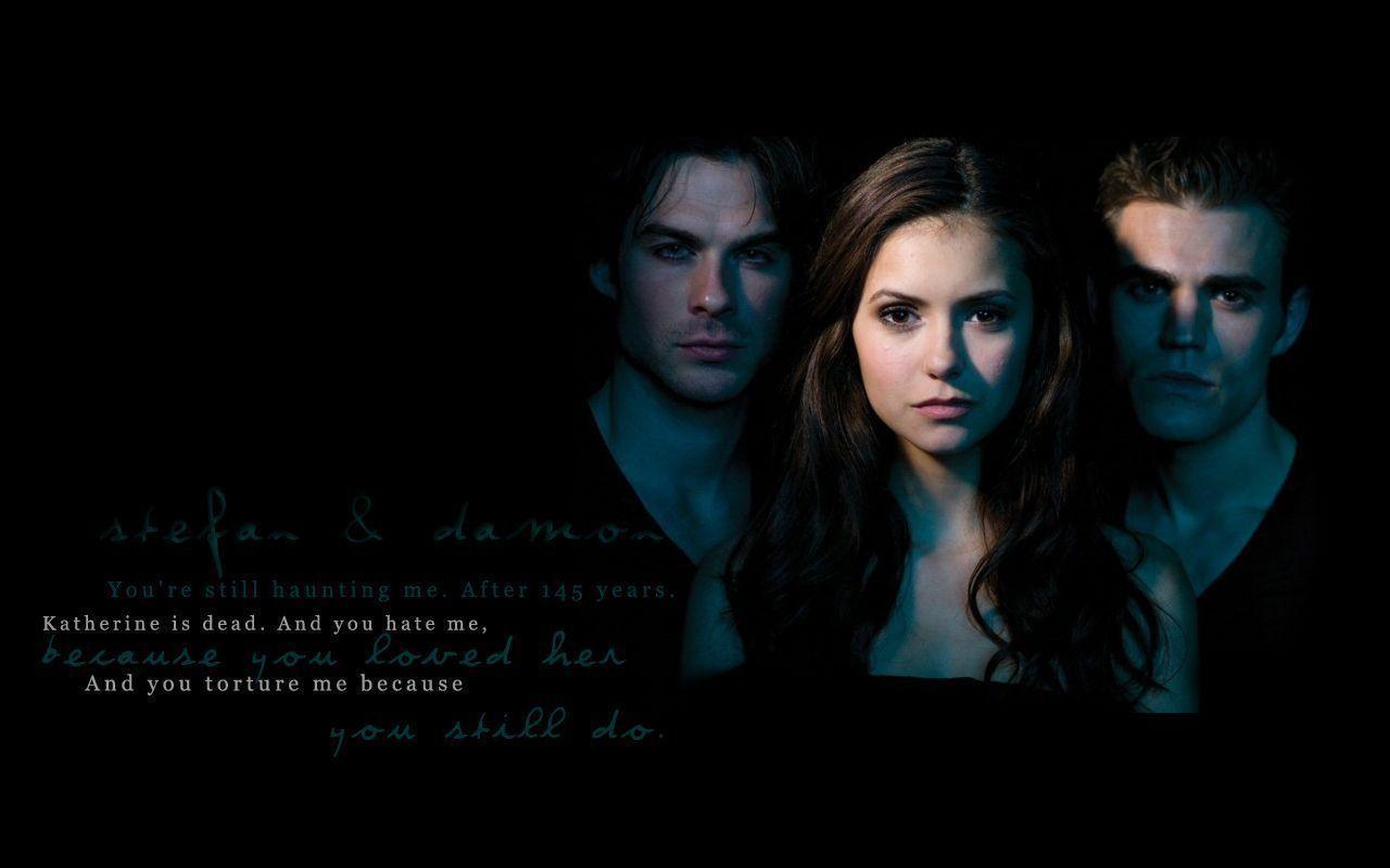 Vampire Diaries Wallpapers Damon And Elena - Wallpaper Cave