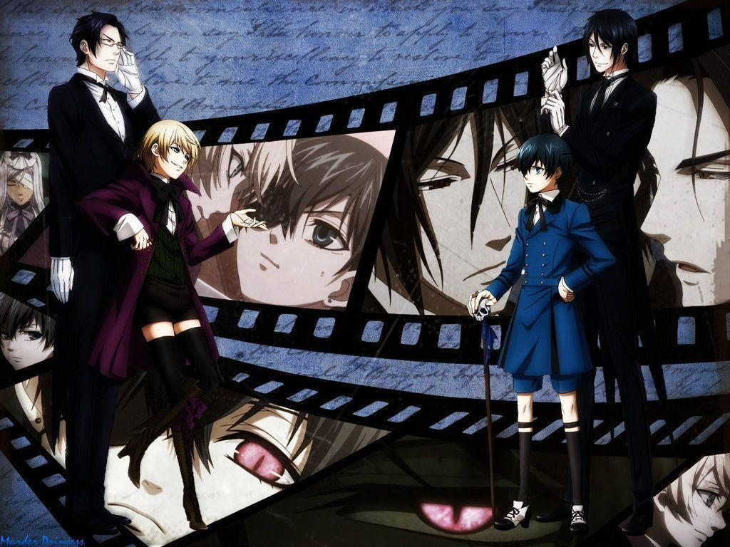 Black Butler Sebastian And Ciel Image & Pictures