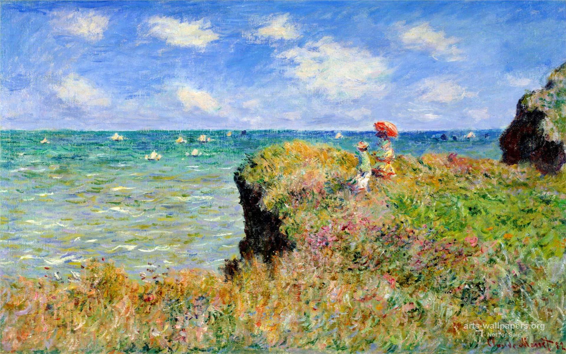 Monet desktop wallpapers free wallpaper cave for Claude monet artwork