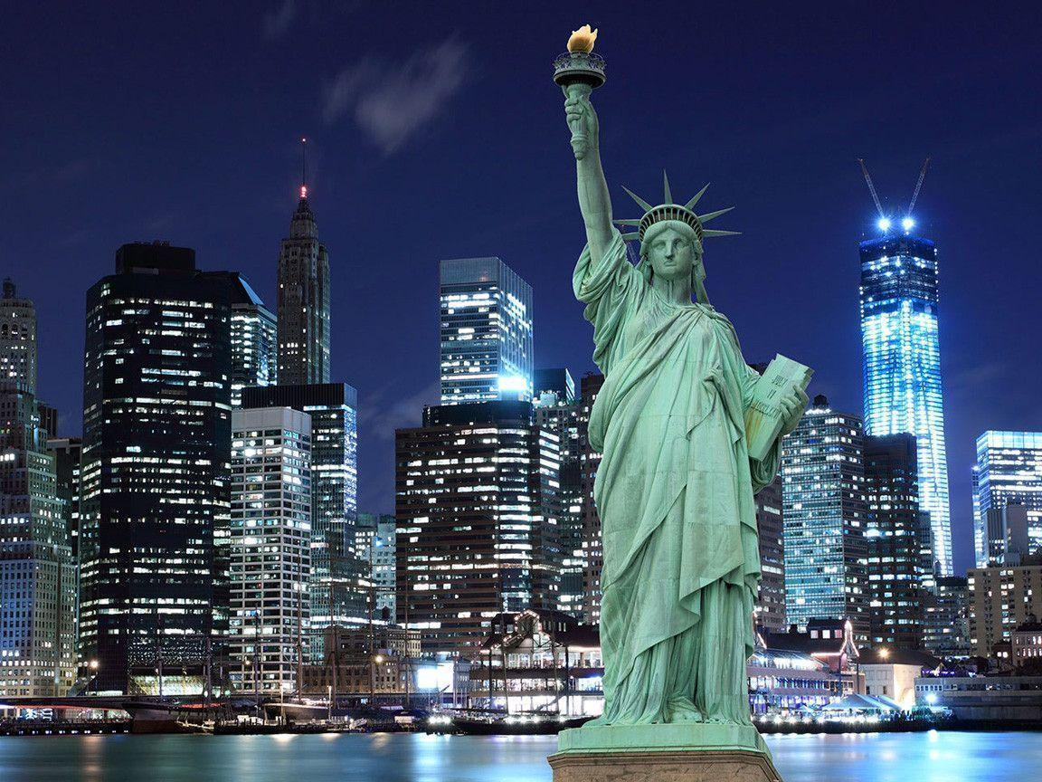 New York Statue Of Liberty 1152x864 wallpapers
