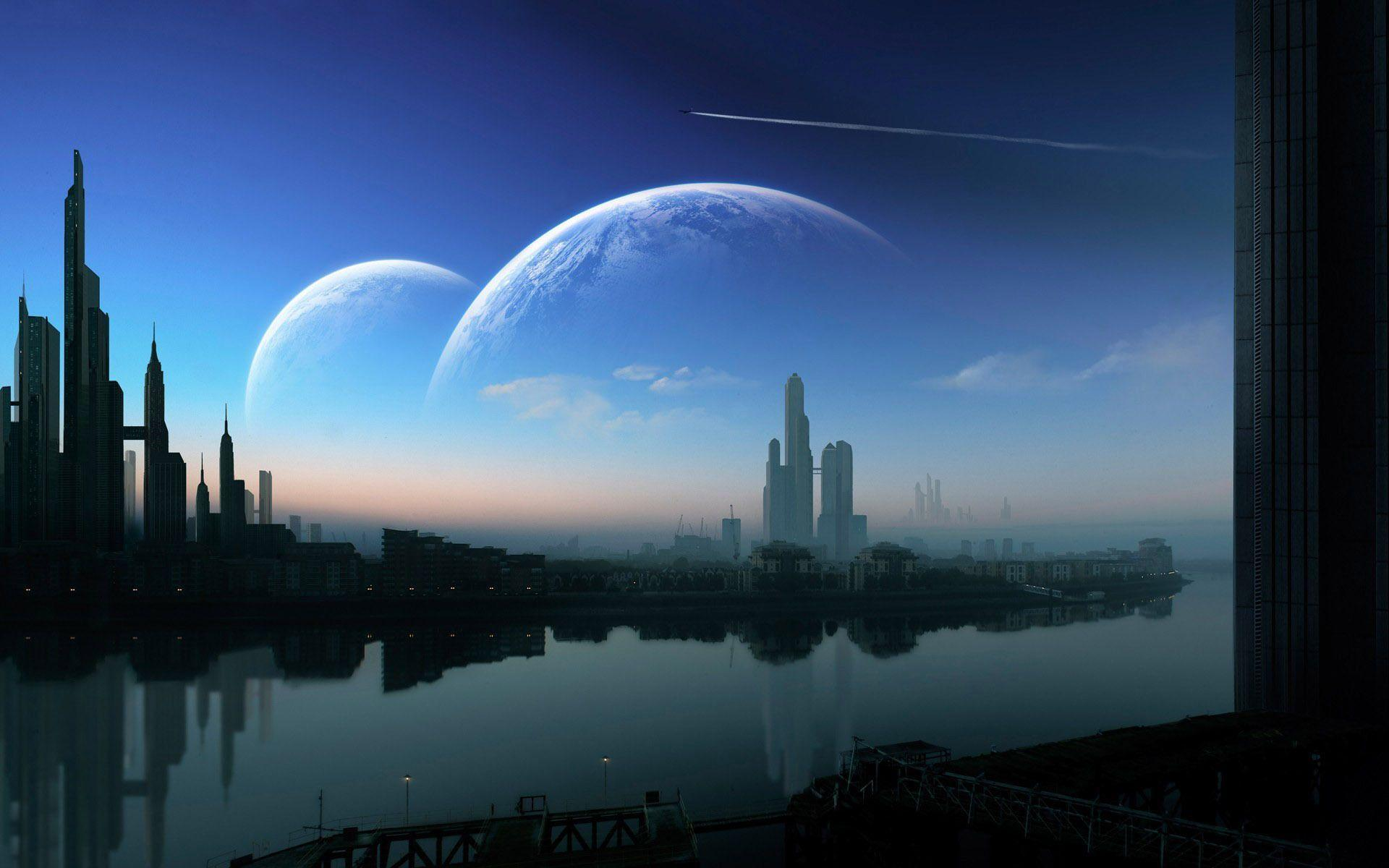 sci fi cities on other planets - photo #49