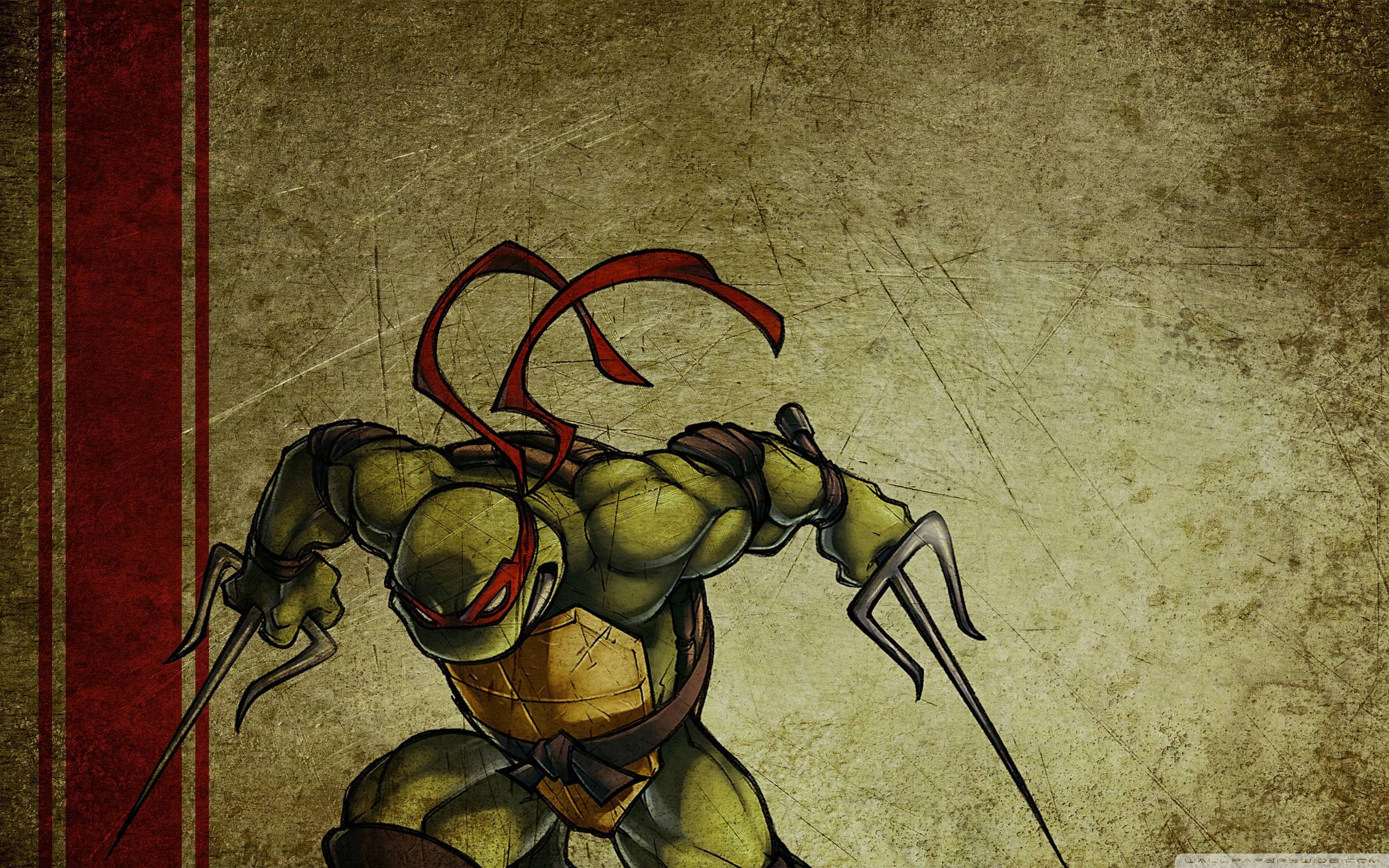 Raphael Teenage Mutant Ninja Turtles Wallpaper 2560x1600 Px Free
