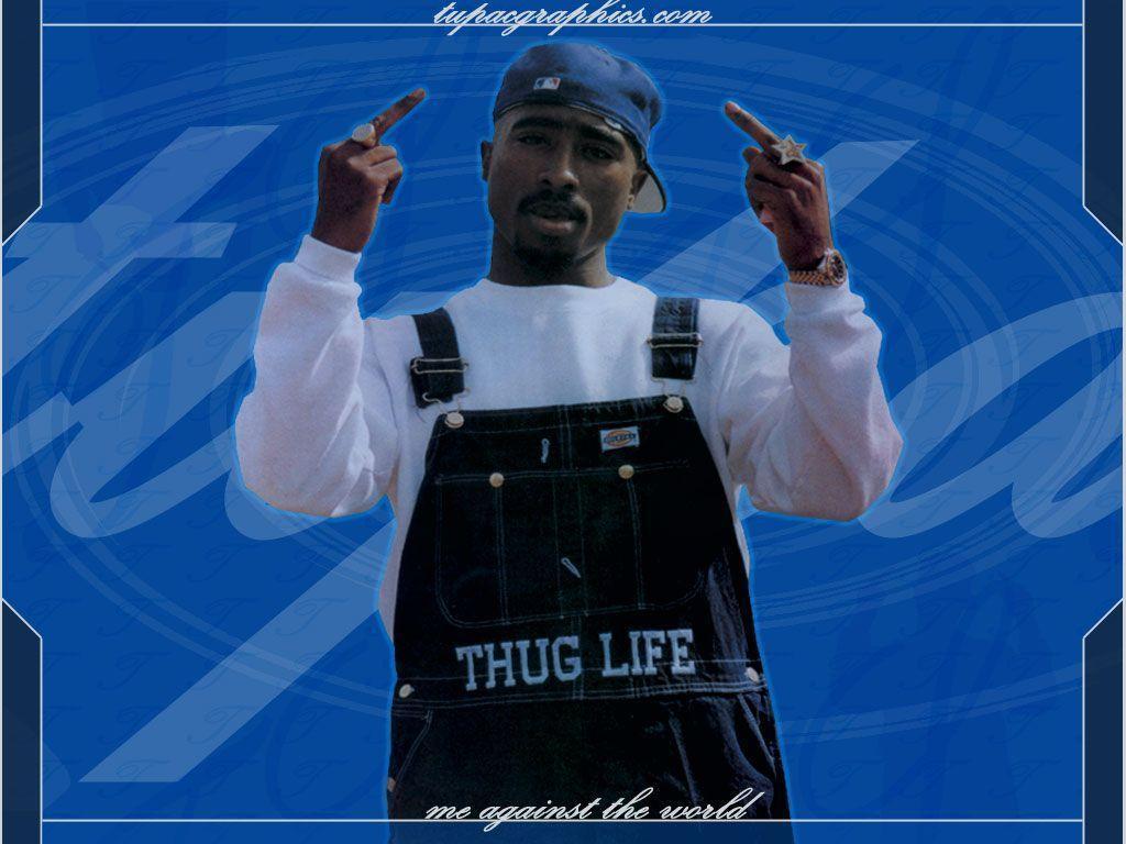 2pac Wallpaper Thug Life