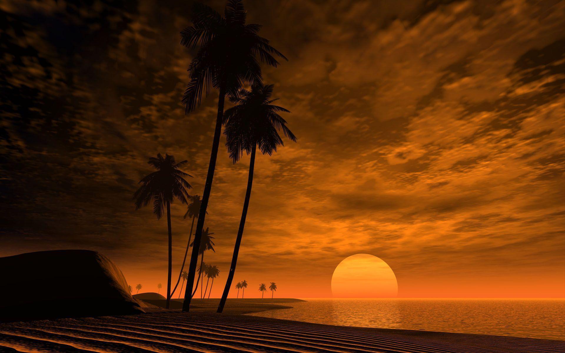 African Sunset Wallpapers | Sky HD Wallpaper