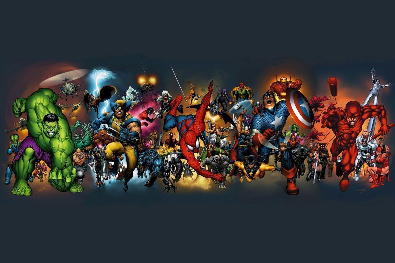 Marvel Super Heroes 60 Superhéroes: Marvel Super Heroes Wallpapers