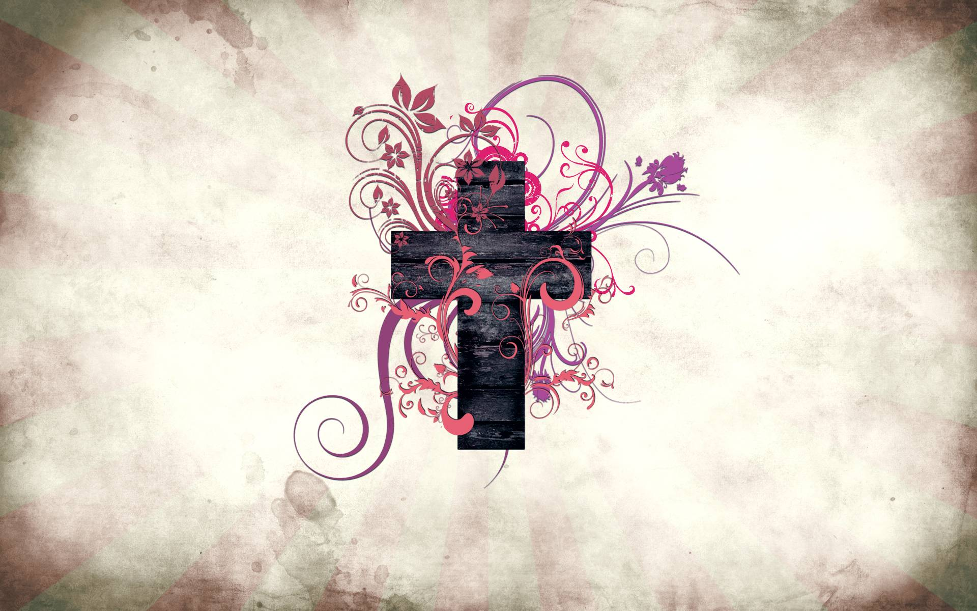 Abstract Art Cross Desktop Free Wallpapers