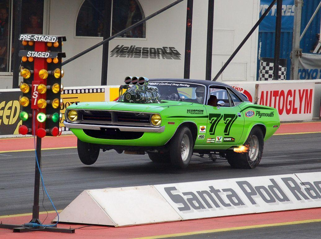 Cuda Drag Race Car 13306 HD Wallpaper Pictures | Top Background ...