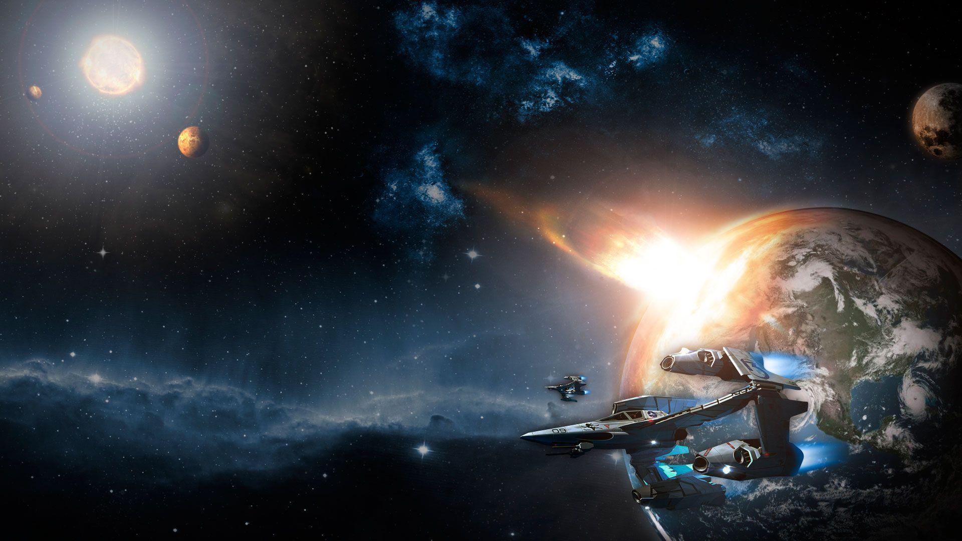 spaceship wallpaper image - warhammer dark force,science fiction ...
