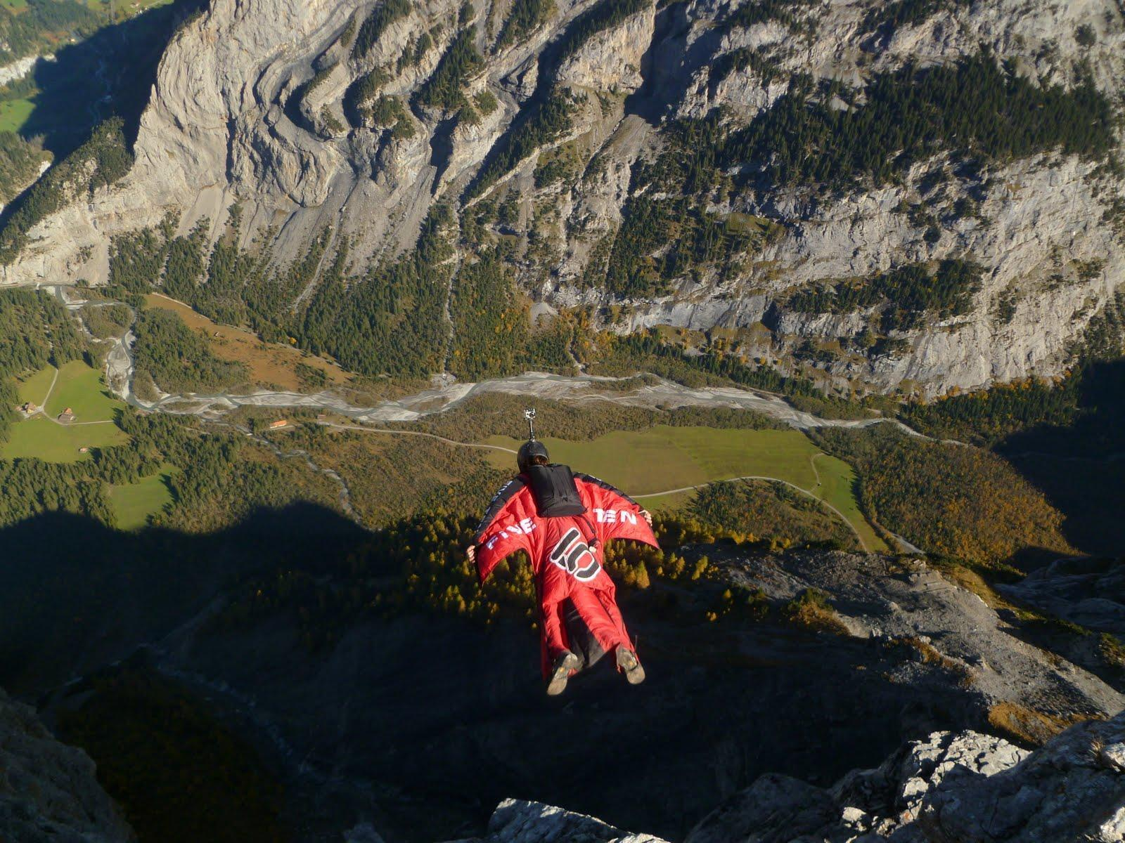 Images For > Wingsuit Flying Wallpaper
