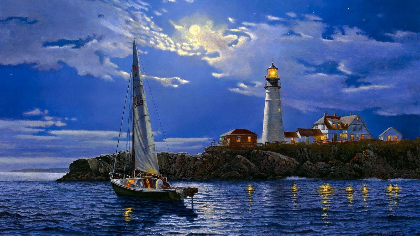 lighthouse desktop wallpapers free wallpaper cave