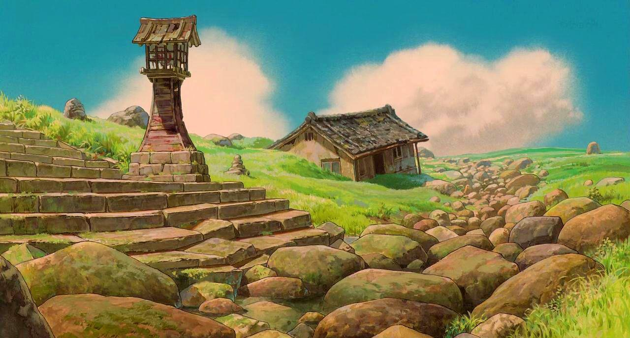 Spirited away backgrounds wallpaper cave for Wallpaper home and away