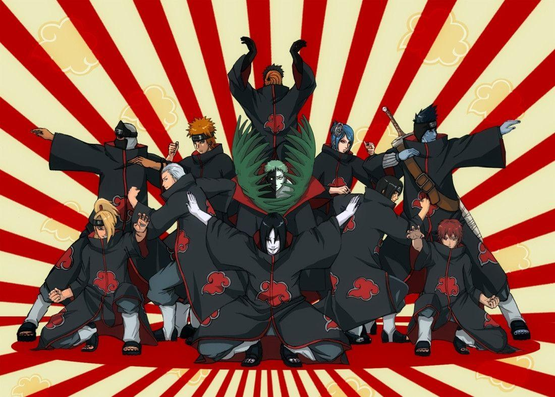 Akatsuki Wallpaper HD Free Download Anime Naruto Akatsuki Wallpaper
