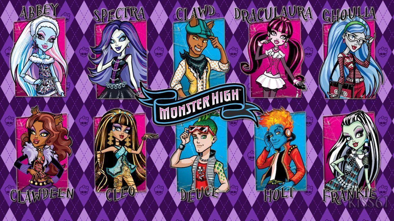 DeviantArt: More Like Monster High Wallpaper by kiss61