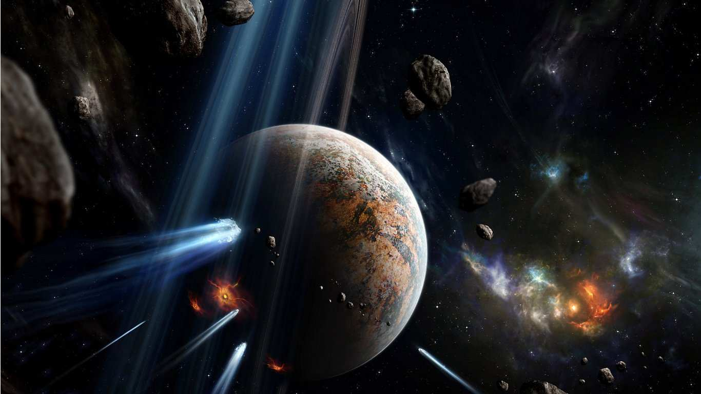 Space Wallpapers 1366x768 - Wallpaper Cave