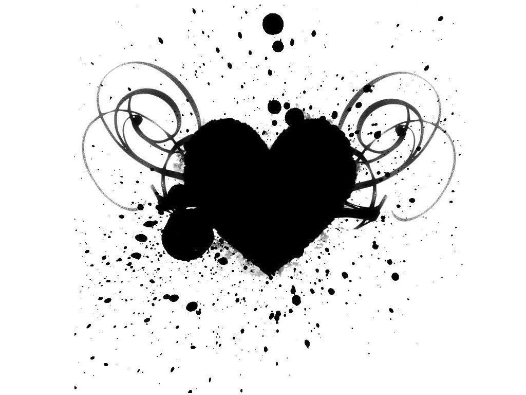 black and white heart wallpapers wallpaper cave rh wallpapercave com black and white heart photography black and white heart symbol