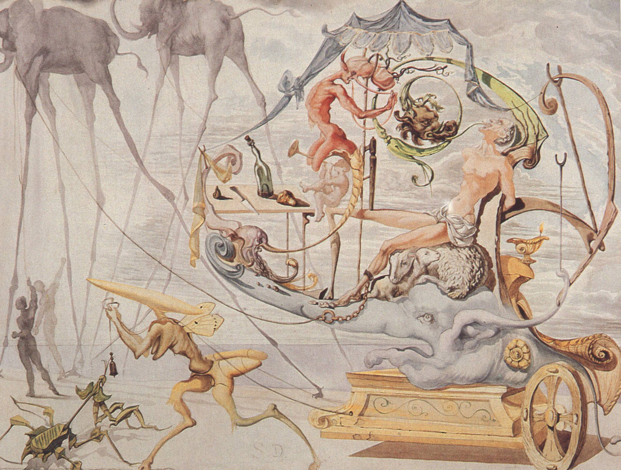 Wallpapers For > Salvador Dali Wallpaper Widescreen