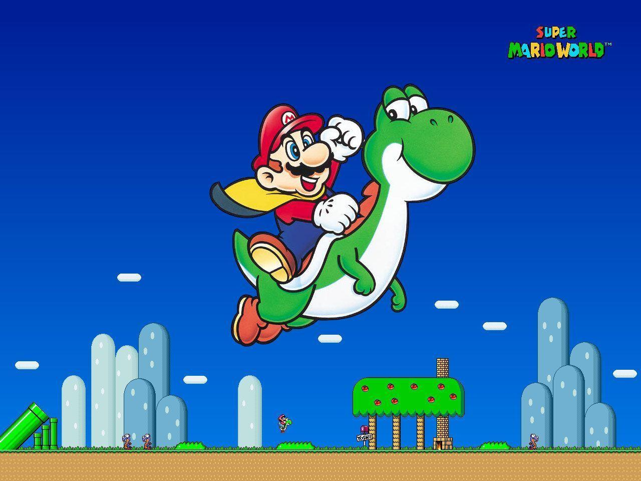 Mario World Wallpapers