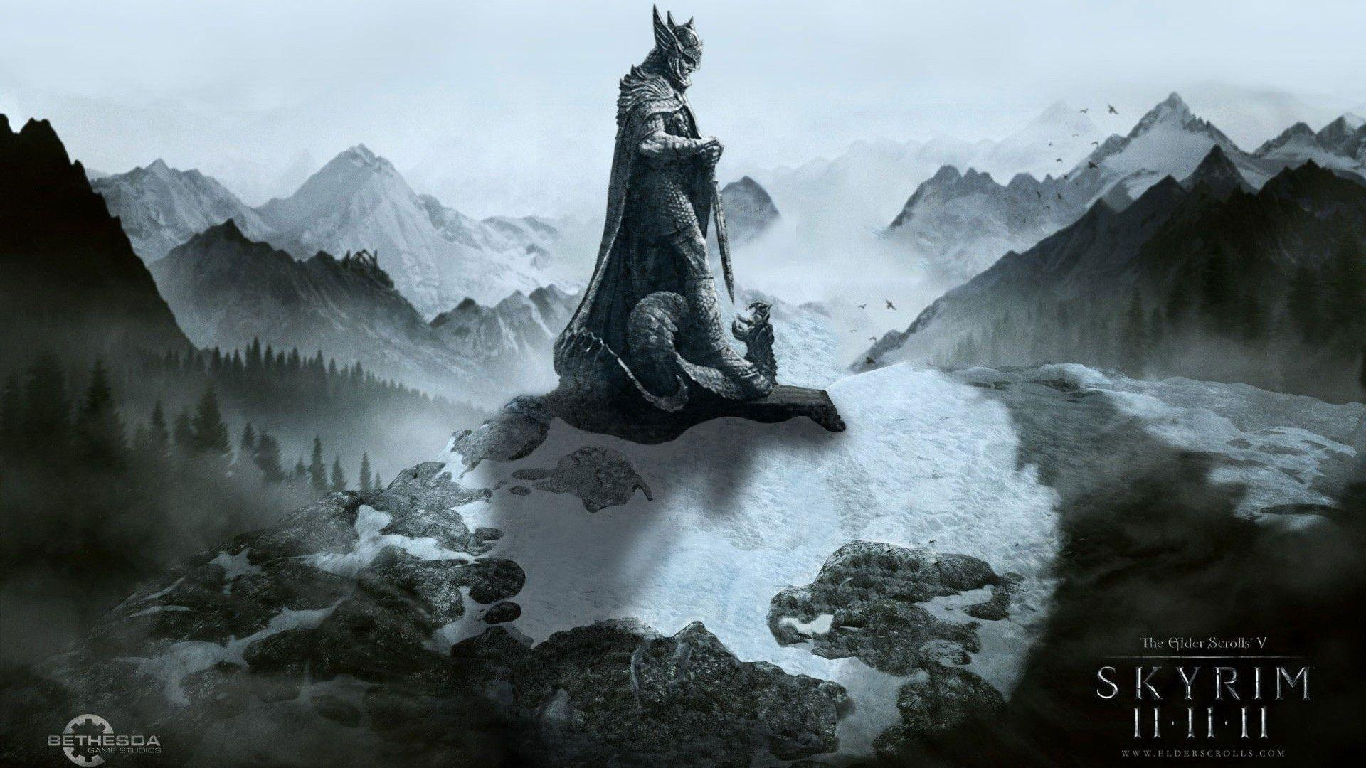 skyrim hd wallpapers 1366x768 - photo #22